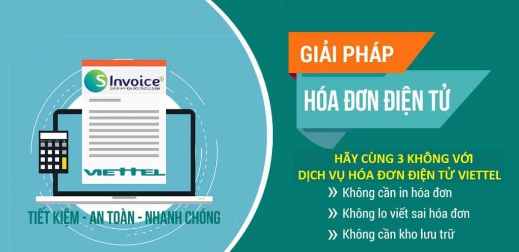 Dịch vụ hóa đơn điện tử Viettel SInvoice 1