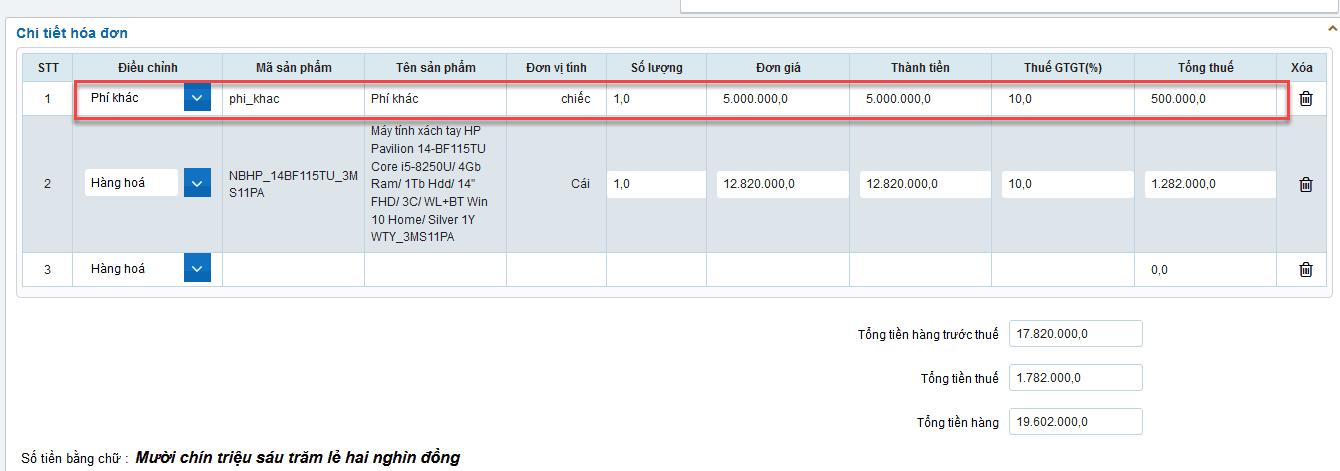 Cách lập hóa đơn điện tử trên hệ thống S-Invoice như thế nào? 17