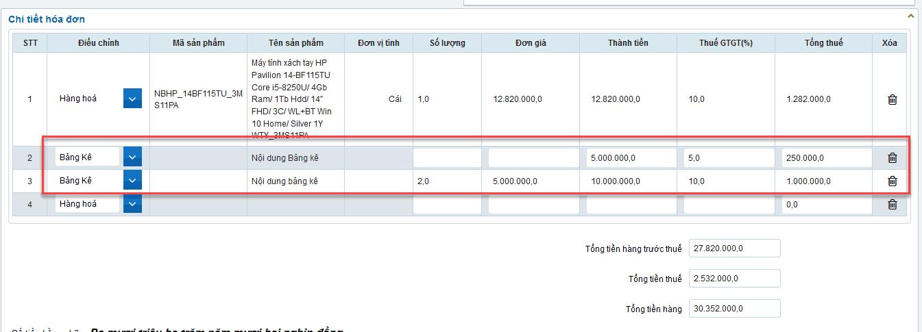 Cách lập hóa đơn điện tử trên hệ thống S-Invoice như thế nào? 16
