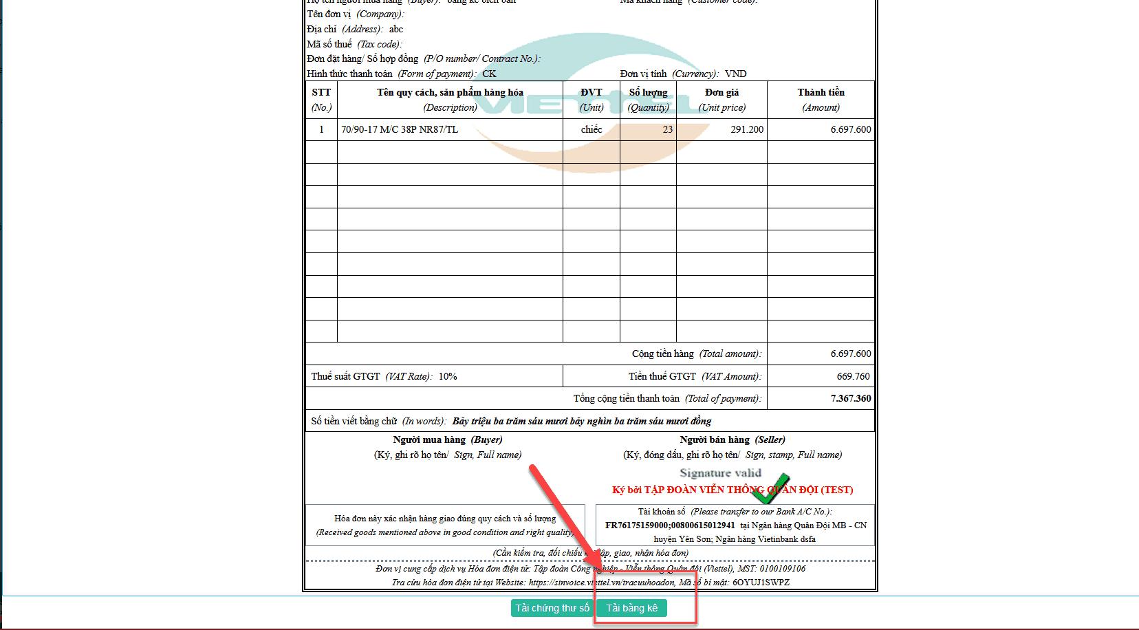 Cách lập hóa đơn điện tử trên hệ thống S-Invoice như thế nào? 8