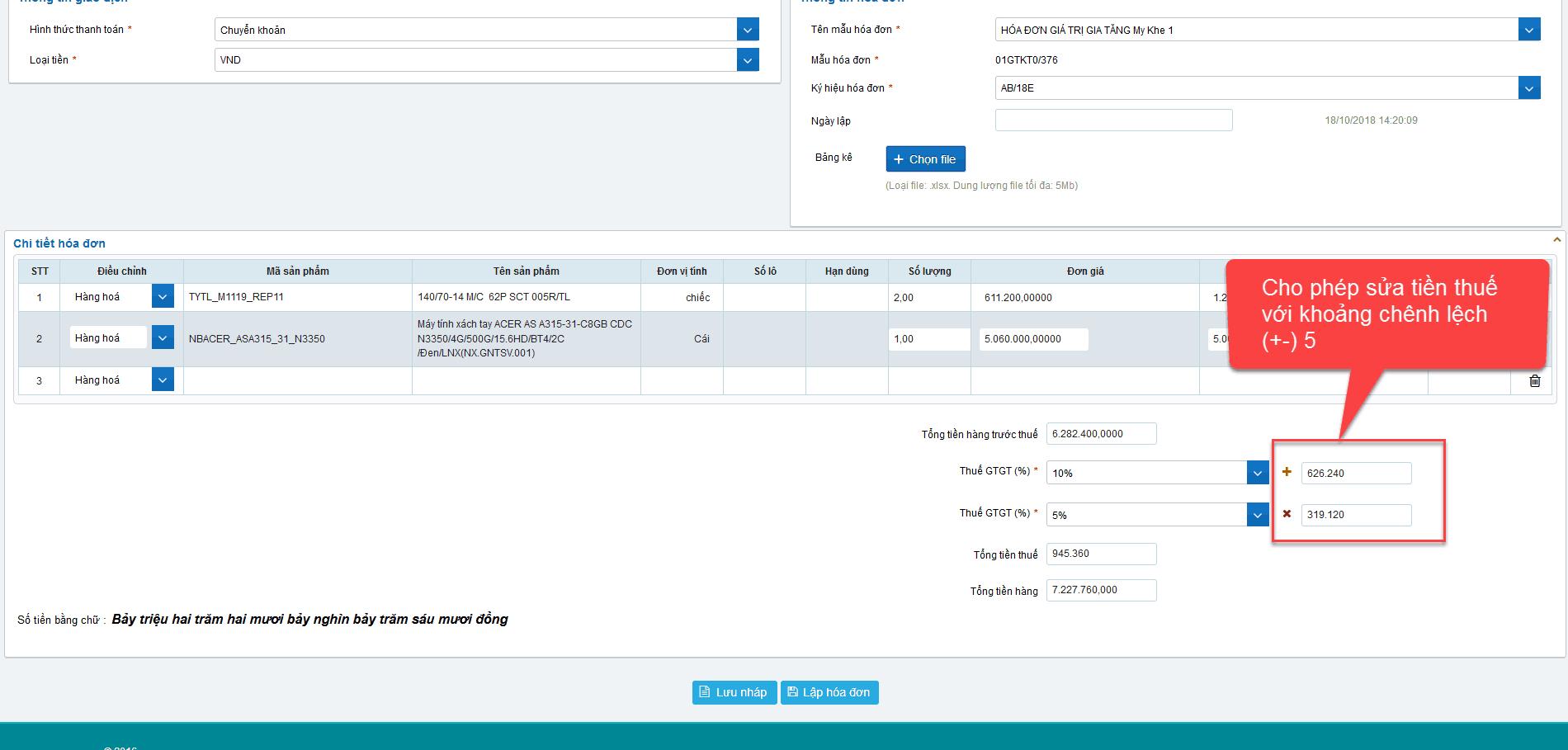 Cách lập hóa đơn điện tử trên hệ thống S-Invoice như thế nào? 20